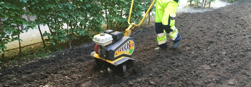 jordfræsning havefræser