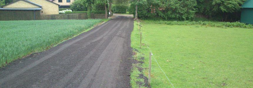 Etablering og reparationer af jordveje